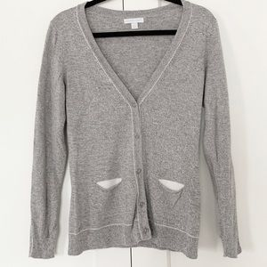 New York & Company • Gray Buttoned Cardigan Sz. S
